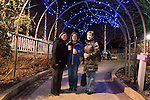Baker sisters at Lewis Ginter Botanical Garden in Richmond, Virginia, USA