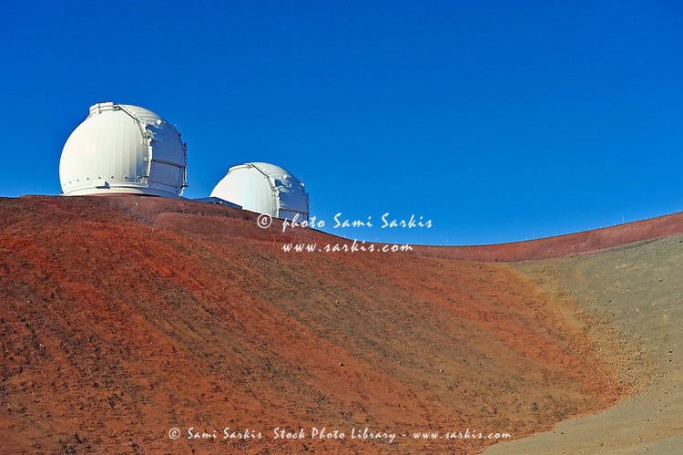 Astronomical observatory, Mauna Kea, Hawaii, USA