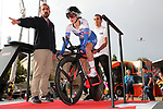 Eugenie Duval (FRA) FDJ Nouvelle-Aquitaine Futuroscope in action during Stage 1 of the Ceratizit Madrid Challenge by La Vuelta 2019 running 9.3km individual time trial around Boadilla del Monte, Spain. 14th September 2019.<br /> Picture: Luis Angel Gomez/Photogomezsport | Cyclefile<br /> <br /> All photos usage must carry mandatory copyright credit (© Cyclefile | Luis Angel Gomez/Photogomezsport)