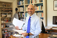 New Miller Center director Bill Antholis. Photo/Andrew Shurtleff