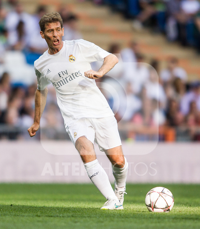 Julio Llorente during the Corazon Classic Match 2016 at Estadio Santiago Bernabeu between Real Madrid Legends and Ajax Legends. Jun 5,2016. (ALTERPHOTOS/Rodrigo Jimenez)