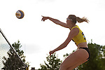 08.05.2015, Muenster, Schlossplatz<br /> smart beach tour, Supercup MŸnster / Muenster, Qualifikation<br /> <br /> Angriff Lisa Arnholdt <br /> <br />   Foto &copy; nordphoto / Kurth