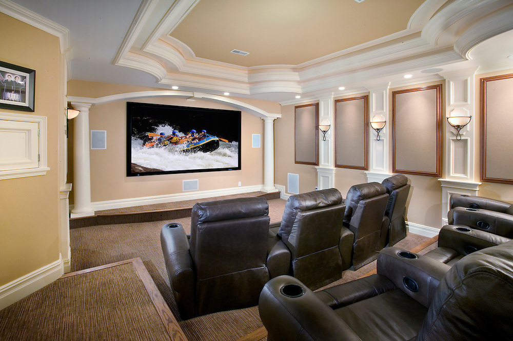 Color Contrast Home Theater