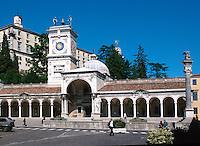 Porticato S.Giovanni,  Piazza della Libertà, Udine, Venetien, Italien.