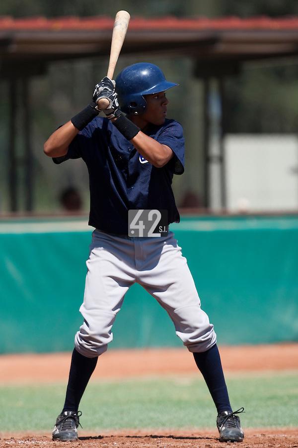 Baseball - MLB European Academy - Tirrenia (Italy) - 20/08/2009 - Andy Paz (France)