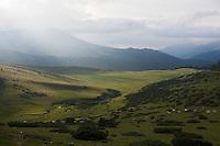 Europe/France/Midi-Pyrénées/65/Hautes-Pyrénées/Ancizan: Estive de la Hourquette d'Ancizan 1538m en vallée d'Aure
