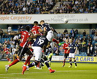 GOAL - Ipswich Town's Jordan Spence makes it 4-3 during the Sky Bet Championship match between Millwall and Ipswich Town at The Den, London, England on 15 August 2017. Photo by Carlton Myrie.