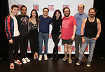 Sawyer Nunes, Nanu Narayan, Kelli Barrett, Mitchell Jarvis, Marilu Henner, Jay Klaitz, Paul Whitty attends the Meet and Greet for Broadway's 'Gettin' the Band Back Together' on May 4, 2018 at Manhattan Movement & Arts Center in New York City.