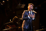 Spanish flamenco singer Miguel Angel Poveda sings during a concert at Royal Theater in Madrid, Spain. July 23, 2015. (ALTERPHOTOS/Victor Blanco)