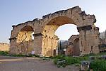 Roman Bath House At Hierapolis