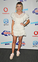 Georgia Toffolo at the Capital FM Summertime Ball 2018, Wembley Stadium, Wembley Park, London, England, UK, on Saturday 09 June 2018.<br /> CAP/CAN<br /> &copy;CAN/Capital Pictures