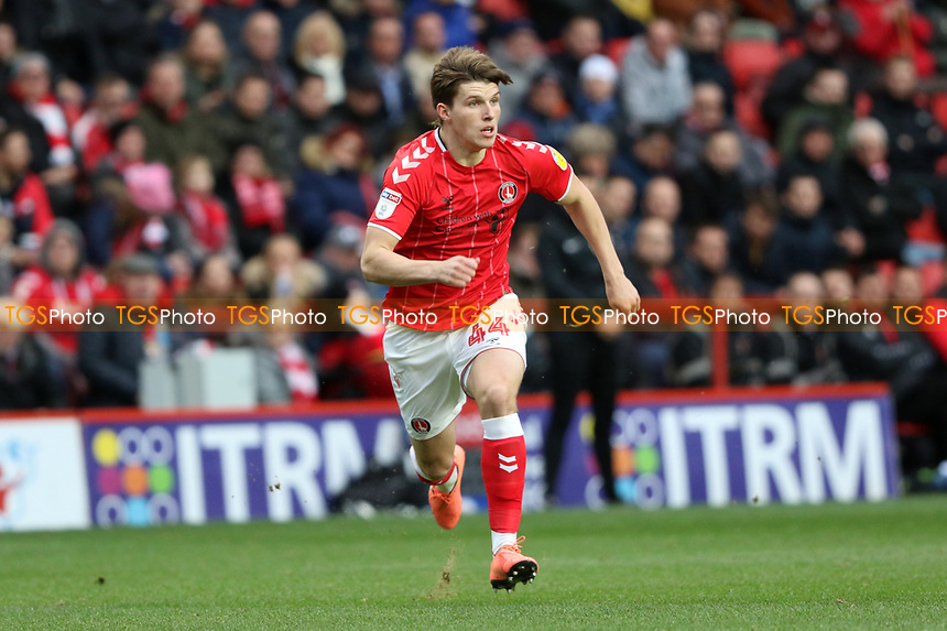 Josh Davison of Charlton Athletic during Charlton Athletic vs West Bromwich Albion, Sky Bet EFL Championship Football at The Valley on 11th January 2020