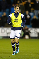 Lee Gregory of Millwall warms up during the Sky Bet Championship match between Millwall and Queens Park Rangers at The Den, London, England on 29 December 2017. Photo by Carlton Myrie / PRiME Media Images.