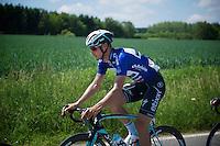 blue jersey Tom Boonen (BEL/OPQS)<br /> <br /> 2014 Belgium Tour<br /> stage 4: Lacs de l'Eau d'Heure - Lacs de l'Eau d'Heure (178km)