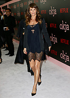 www.acepixs.com<br /> <br /> June 8 2017, New York City<br /> <br /> Helena Christensen arriving at the premiere of 'Okja' hosted by Netflix at the AMC Lincoln Square Theater on June 8, 2017 in New York City.<br /> <br /> By Line: Nancy Rivera/ACE Pictures<br /> <br /> <br /> ACE Pictures Inc<br /> Tel: 6467670430<br /> Email: info@acepixs.com<br /> www.acepixs.com