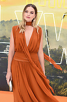 "Margot Robbie<br /> arriving for the ""Once Upon a Time... in Hollywood"" premiere, Leicester Square, London<br /> <br /> ©Ash Knotek  D3514  30/07/2019"