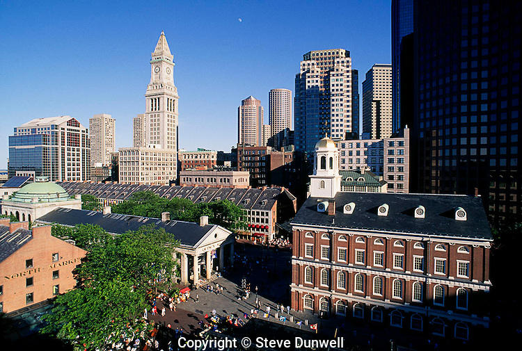 Quincy Market & Faneuil Hall, Boston, MA