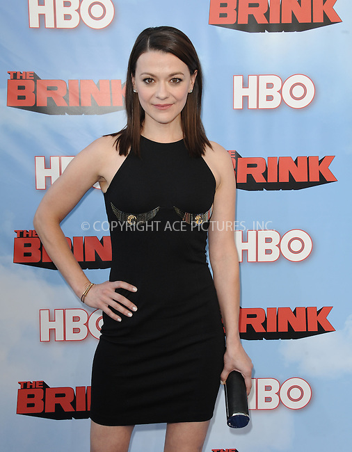 WWW.ACEPIXS.COM<br /> <br /> June 8 2015, Hollywood Ca<br /> <br /> Maribeth Monroe arriving at HBO's Brink premiere on June 8, 2015 at the Paramount Theater in Hollywood Ca.<br /> <br /> Please byline: Peter West/ACE Pictures<br /> <br /> ACE Pictures, Inc.<br /> www.acepixs.com<br /> Email: info@acepixs.com<br /> Tel: 646 769 0430