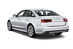 Car pictures of rear three quarter view of 2017 Audi A6 Prestige 4 Door Sedan angular rear