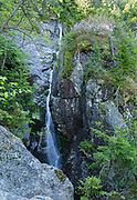 Waterfall on Ammonoosuc River in Sargent's Purchase in the New Hampshire White Mountains. The Ammonoosuc Ravine Trail passes by this location. This series of cascades used to be known as Captain Dodge's Cascades.