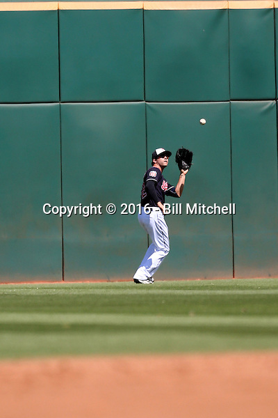 Tyler Naquin - Cleveland Indians 2016 spring training (Bill Mitchell)