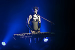 Amanda Palmer and The Grand Theft Orchestra live at Turner Hall Ballroom in Milwaukee, WI. Photo by Jennifer Rondinelli Reilly.