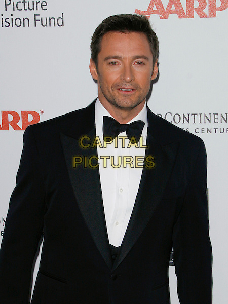 "HUGH JACKMAN.The 5th Annual ""A Fine Romance"" Benefit for Motion Picture & Television Fund held at  20th Century FOX Studios in Los Angeles, California, USA. .May 1st, 2010.half length black tuxedo .CAP/ROT/MAX.©Max Cash/Roth Stock/Capital Pictures"