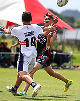 National Secondary Schools Touch Championships, Bruce Pullman Park, Auckland, Friday 7 December 2018. Photo: Simon Watts/www.bwmedia.co.nz