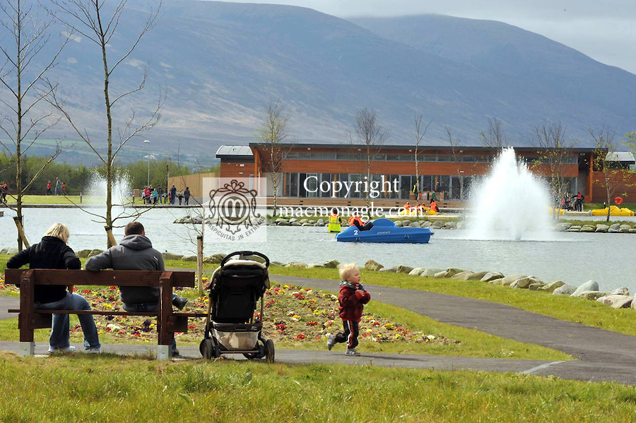The magnificient ?5million Tralee Wetlands centre which opened to the public at the weekend..Picture by Don MacMonagle