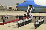 The welcoming ceremony for US President Barack Obama at Ben Gurion Airport