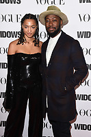 "LONDON, UK. October 31, 2018: Magaajyia Silberfield at the ""Widows"" special screening in association with Vogue at the Tate Modern, London.<br /> Picture: Steve Vas/Featureflash"