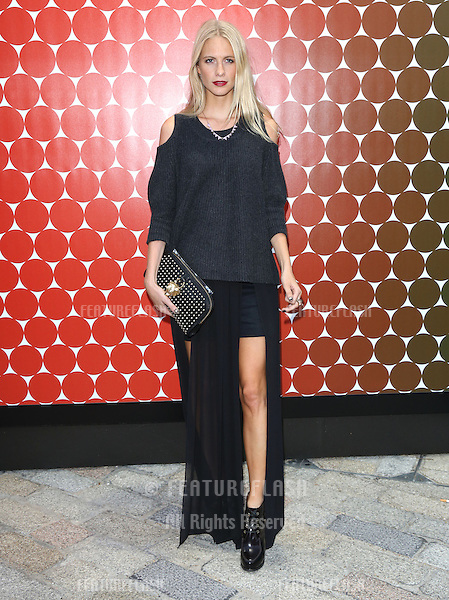 Poppy Delevigne at the Felder Felder catwalk show as part of London Fashion Week SS13, Somerset House, London.14/09/2012 Picture by: Henry Harris / Featureflash
