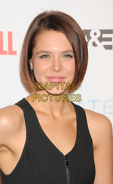 LOS ANGELES, CA- FEBRUARY 26: Actress Paloma Kwiatkowski  arrives at the premiere party for A&amp;E's Season 2 of 'Bates Motel' and the series premiere of 'Those Who Kill' at Warwick on February 26, 2014 in Los Angeles, California.<br /> CAP/ROT/TM<br /> &copy;Tony Michaels/Roth Stock/Capital Pictures