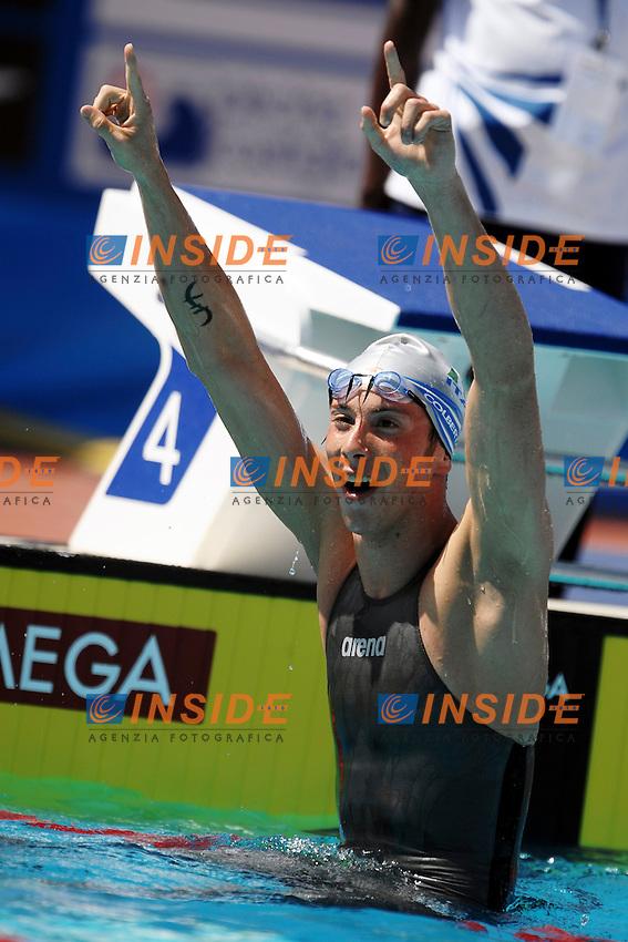 Roma 28th July 2009 - 13th Fina World Championships From 17th to 2nd August 2009.Swimming Men's 800m Freestyle.Federico COBERTALDO (ITA).photo: Roma2009.com/InsideFoto/SeaSee.com . .Foto Andrea Staccioli Insidefoto
