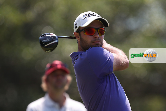 Edouard Dubois (FRA) produced only a par round during Round Three of The Africa Open 2014 at the East London Golf Club, Eastern Cape, South Africa. Picture:  David Lloyd / www.golffile.ie