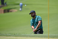 J.J. Spaun (USA) chips up tight on 8 during 3rd round of the 100th PGA Championship at Bellerive Country Club, St. Louis, Missouri. 8/11/2018.<br /> Picture: Golffile | Ken Murray<br /> <br /> All photo usage must carry mandatory copyright credit (&copy; Golffile | Ken Murray)