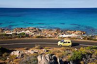 Driving the coastline of Geographe Bay, near Dunsborough, Western Australia, AUSTRALIA.