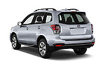 Car pictures of rear three quarter view of 2017 Subaru Forester 2.5i-Limited-CVT 5 Door SUV Angular Rear