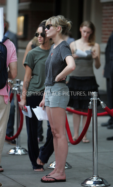 """WWW.ACEPIXS.COM . . . . . ....August 8 2007, New York City....Actors Kirsten Dunst and Megan Fox on the set of 'How to loose friends and alienate people' which was filming in Soho, Manhattan. In the movie, a British writer (played by Simon Pegg) struggles to fit in at a high-profile New  York magazine. It is based on Toby Young's memoir """"How to Lose Friends & Alienate People"""".....Please byline: DAVID MURPHY - ACEPIXS.COM.. . . . . . ..Ace Pictures, Inc:  ..(646) 769 0430..e-mail: info@acepixs.com..web: http://www.acepixs.com"""