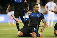 SAN JOSE, CA - JULY 06: Danny Hoesen #9 during a Major League Soccer (MLS) match between the San Jose Earthquakes and Real Salt Lake on July 06, 2019 at Avaya Stadium in San Jose, California.