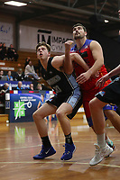 The Central Coast Crusaders play Sutherland Sharks in Round 8 of the Waratah League Mens Division 1 at Breakers Stadium on 29th of August, 2020 in Terrigal, NSW Australia. (Photo by Paul Barkley/LookPro)