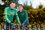 Tommy Sheehy doing five day's of cycling (Vuelta stages of Spain) in Spain for Enable Ireland and sponsored by Kingdom Endurance Sports. Pictured here with Pat Dunworth, Kingdom Endurance Sports