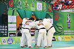 Men's Japan National Team Group (JPN), .April 21, 2013 - Judo : .Asian Judo Championships 2013, Men's Team Competition .at Bangkok Youth Centre, Bangkok, Thailand. .(Photo by Daiju Kitamura/AFLO SPORT) [1045]