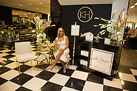 """Real Housewives of Potomac"" Karen Huger La' Dame Fragrance At Bloomingdales"