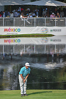 Chez Reavie (USA) lines up his putt on 17 during round 1 of the World Golf Championships, Mexico, Club De Golf Chapultepec, Mexico City, Mexico. 3/1/2018.<br /> Picture: Golffile | Ken Murray<br /> <br /> <br /> All photo usage must carry mandatory copyright credit (&copy; Golffile | Ken Murray)