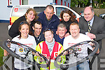 Launching the Kerry Emergency Services Charity Cycle in aid of the Order of Malta and the Kerry cancer support group which will be held on 11 June starting at Kerin's O'Rahlly's clubhouse front row l-r: front row l-r: Garda Tricia Fitzpatrick, Collette Kiely Order of Malta, Gearoid Constable Ambulance Services,. Back row: Suzanne Scully Organising Committee, John O'Donnell Kerry Fire Service, Danny Fleming Order of Malta, Pat Fleming Kerry Fire Service, Ann Nagle No Name Club and Sean Prendergast Kerry Cancer Support Group,  ..