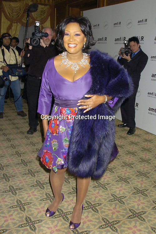 Patti LaBelle ..at The Annual amFar Benefit on November 30, 2004 at ..The Pierre Hotel in New York City. Patti LaBelle, Sumner Redstone and Peter Dolan were honored. ..Photo by Robin Platzer, Twin Images