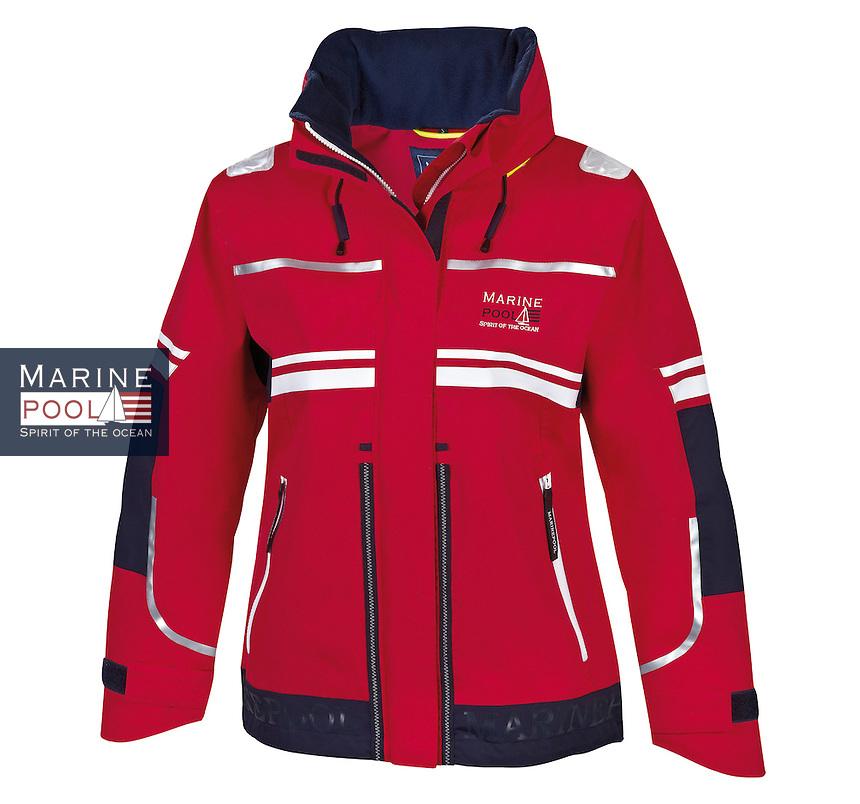 feresa jacket women red darknavy1.jpg | Marinepool