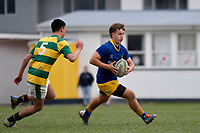 College Rugby - St Bernard's College v Mana College at St Bernard's College, Lower Hutt, New Zealand on Saturday 1 August  2020. <br /> Photo by Masanori Udagawa. <br /> www.photowellington.photoshelter.com