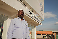 Levy Ouso, General Manager, VW-Fabrik in Kigali, Ruanda